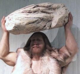 Klasse Gyger im Neanderthal Museum