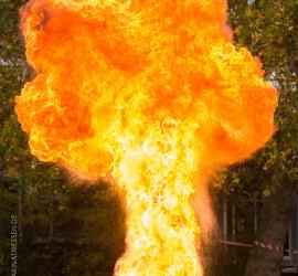 Feuerexperiment 2015
