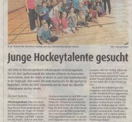 Zeitungsartikel Hockeytalente