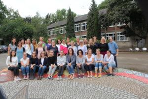 Kollegium der Montessori-Grundschule Schuljahr 2018-2019